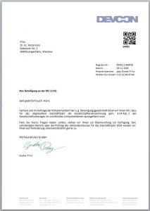 Einladung GV